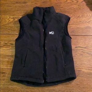 Millet black fleece vest